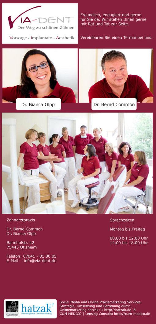 Implantate und Zahnersatz bei Bretten, Knittlingen