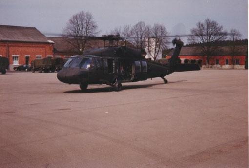 Blackhawk Hubschrauber der US ARMY