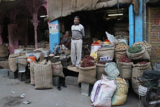 kleiner Markt in Bikaner
