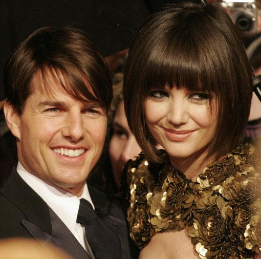 Tom Cruise und seine Ehefrau