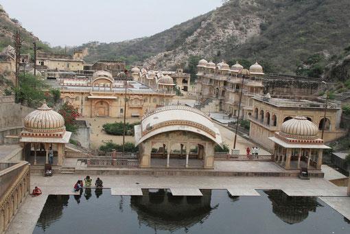Tempel mit heiligem Wasser