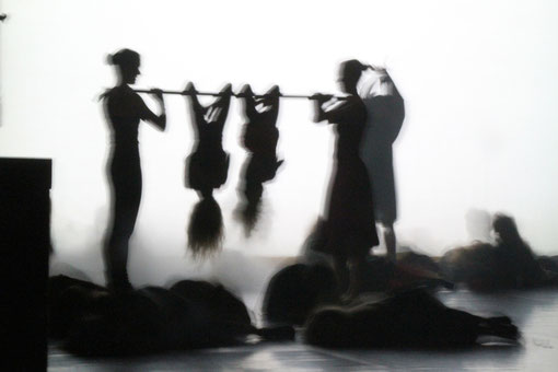 Schattenspiel Tanzschule Klein