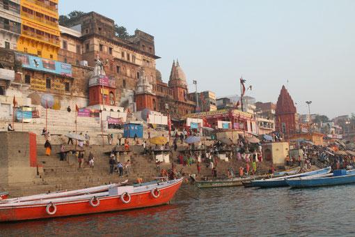 Varanasi ist eine schöne Stadt
