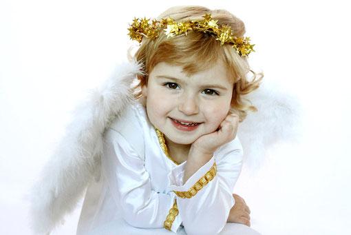 Jette als Engel