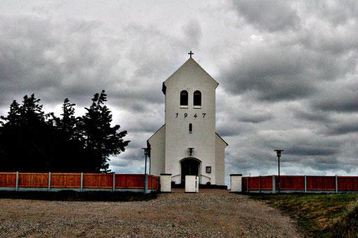 kleine Kirche in Dänemark