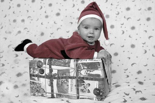wenn ich gross bin werde ich ein Weihnachtsmann
