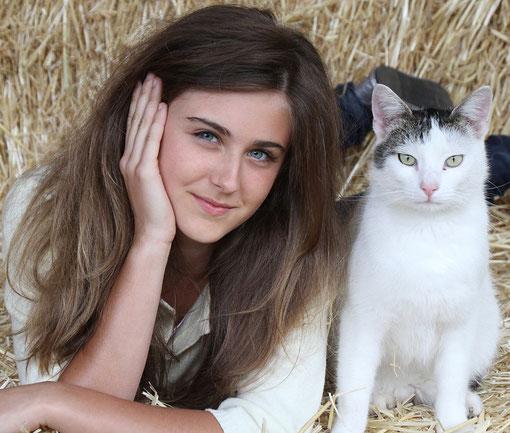 mit Katze