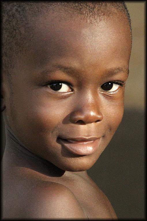 Kind von meiner Gastfamilie in Togo