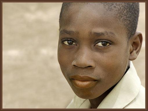 Kind in Togo