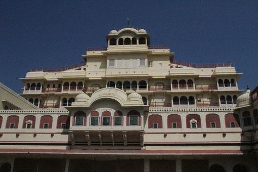 Regierungssitz im Palast