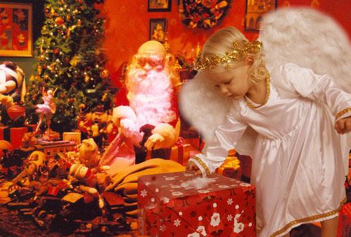 im Weihnachtszimmer