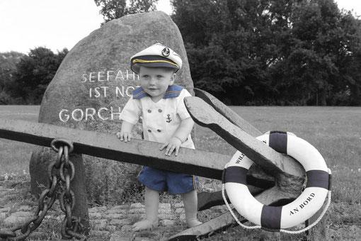 Jan als Kapitän