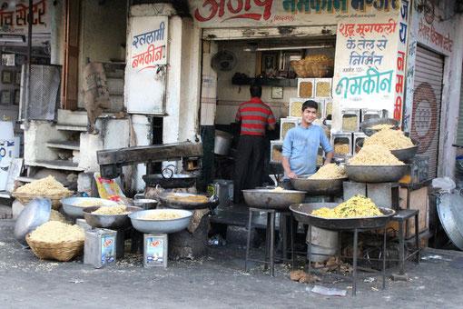 Marktstand in Udaipur
