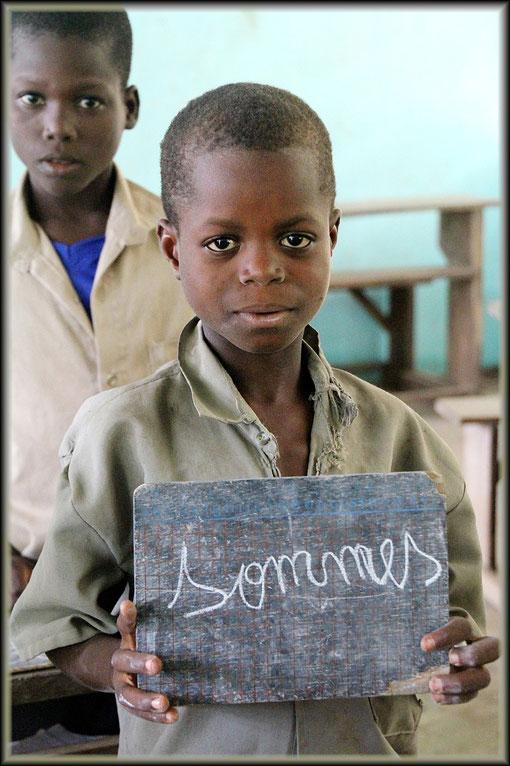 in einer Schule in Togo