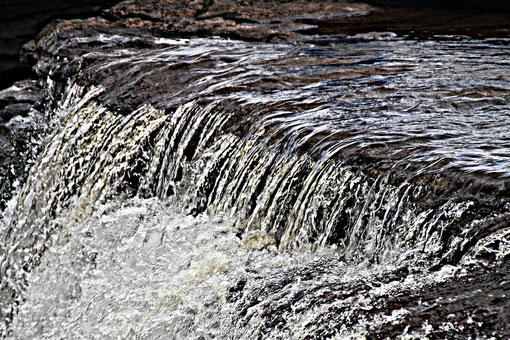 am Salto el Sapol Wasserfall