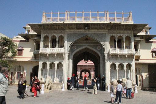 Stadtpalast in Jaipur
