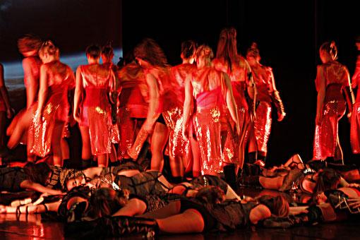 rote Tänzer