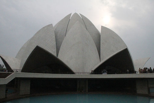 Lotus Tempel in Dehli