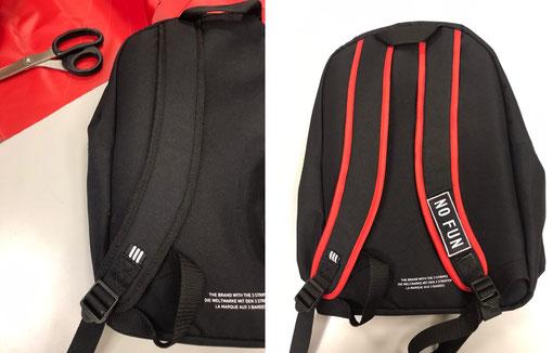 Ваш рюкзак кажется вам обычным? Приходите. Да свершится магия шитья!