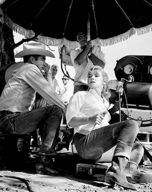 Marilyn Monroe en Levi's 501 en 1960