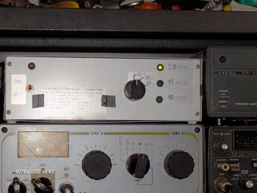 CONTROL-BOX IN STAZIONE