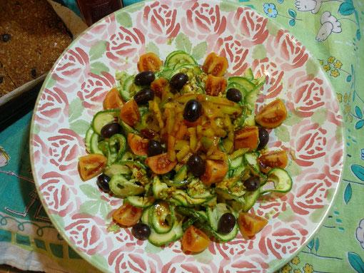 Tagliatelle di Zucchine Exodus
