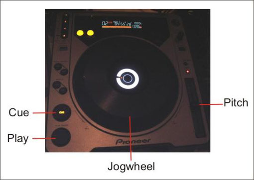 Pioneer DJ CD-Player