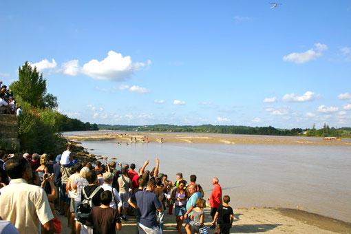 La Dordogne à Saint-Pardon de Vayres (A. Blanchet)