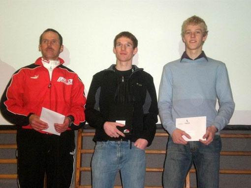 Siegerehrung mit Michael Greber (4. Platz)