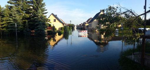 Hochwasser Barby  2013