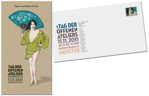 am 11. November ab 14 Uhr, Hafenstraße 64, Münster (Einladungskarte: Robert Nippoldt)
