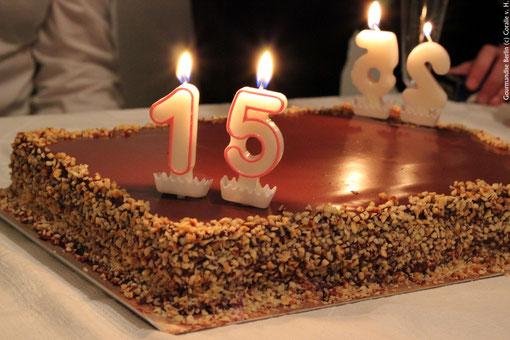 Alles gute zum 15+25. Geburtstag, Stéphanie!