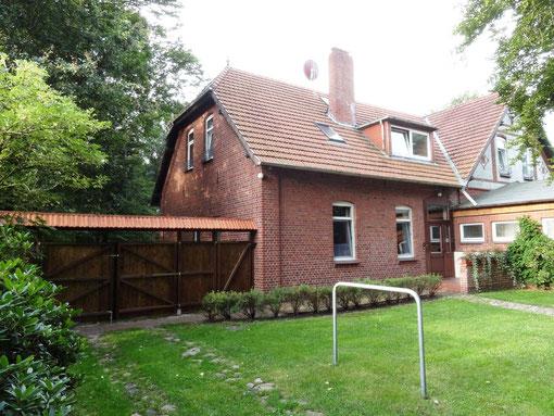 Ferienwohnung - Garten (c) Alte Schule Bokel