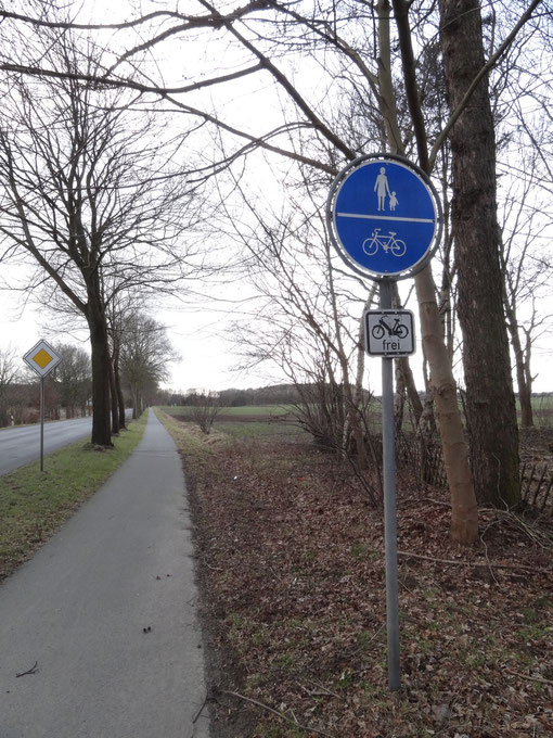 L134 Harrendorf Finnaerberg Finna Bramstedt Kransmoor Bokel Langenfelde