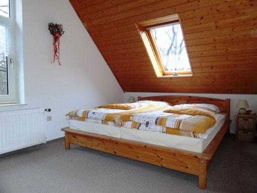 Foto Ferienwohnung Alte Schule Bokel - Schlafraum für 2 Personen