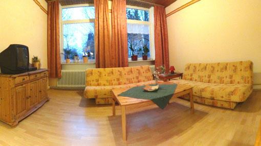 Foto Ferienwohnung Alte Schule Bokel - Wohn-/Schlafraum
