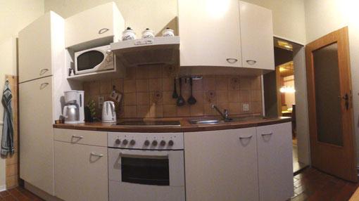 Foto Ferienwohnung Alte Schule Bokel - Küche
