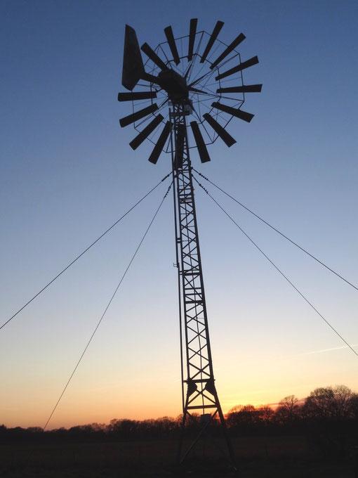 altes Windrad an der L134 von Langenfelde Richtung Bokel und Lohe