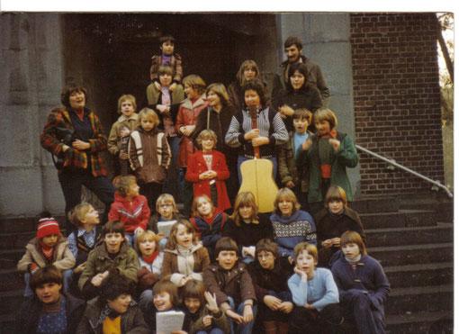 Nach Auftritten wie in der Anstaltkirche in Bedburg fand man gelegentlich auch Zeit für ein Gruppenfoto