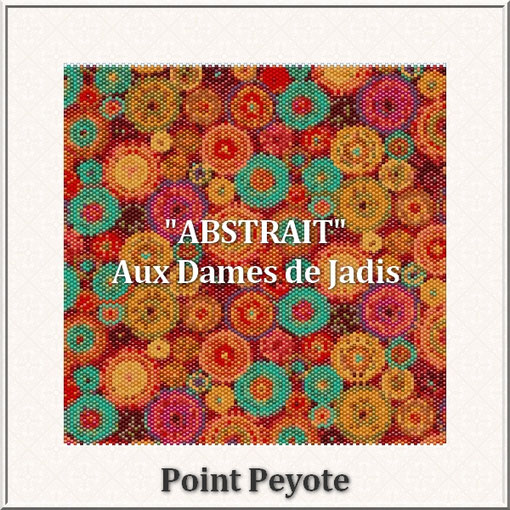 abstrait-fleurs-picture-pattern-tapis-tapestry-miyuki-delica-seed beads-DIY-peyote-loom-even count-instant downlaod-auxdamesdejadis.com