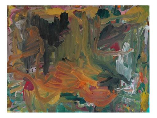 Landschaft (spanisch),Gouache,57x75cm,2010