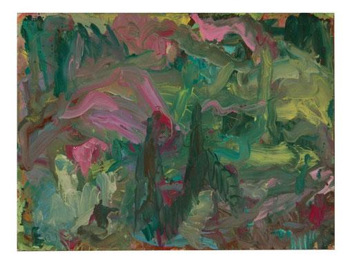 Lichtung,Gouache,57x75cm,2010