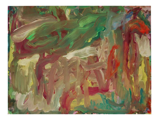 Hase,Gouache,57x75cm,2010