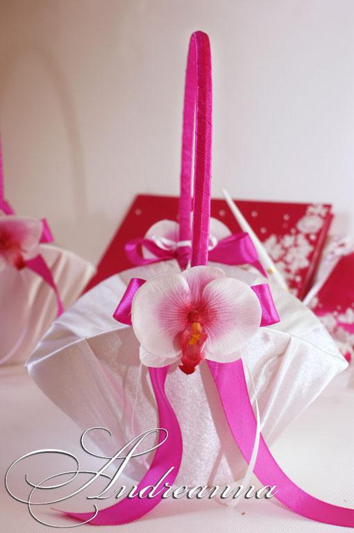 """Корзинка """"Гавайская орхидея"""" стоимость 300 грн"""