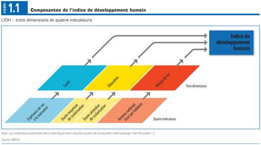 Nouvelle monture de l'IDH 2010 (DR - PNUD).
