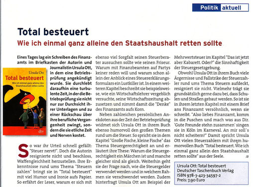 In: Der Steuerzahler - Wirtschaftsmagazin 10/2010