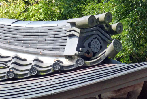 永平寺僧堂の瓦