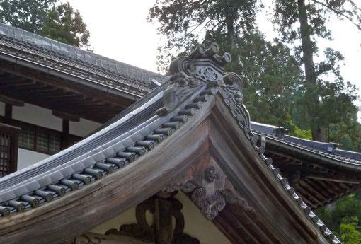永平寺大庫院の瓦