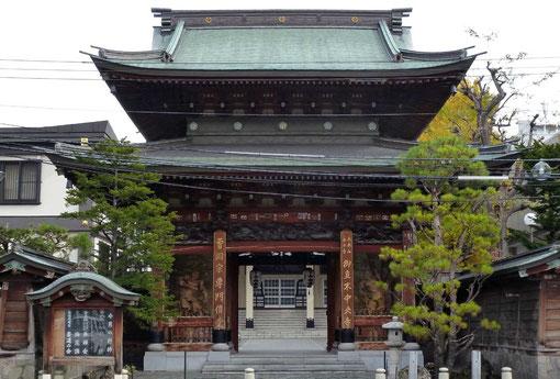 札幌・中央寺・山門 (撮影・東川寺)