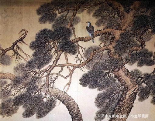 永平寺光明蔵中央壁画・小室翠雲